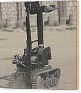 The Teodor Heavy-duty Bomb Disposal Wood Print