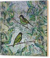 The Time Of Singing Birds Wood Print