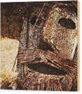 The Tin Man Wood Print by Kathy Clark