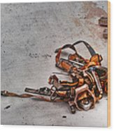 The Tool Belt Wood Print by Brenda Bryant