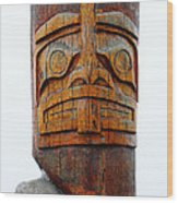 The Totem Canada Wood Print