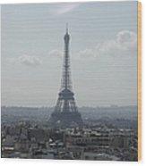 The Tower Eiffel Wood Print