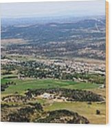 The Town Of Mancos Wood Print