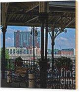 The Trainstation In Nashville Wood Print
