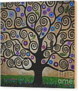 The Tree Of Life Wood Print