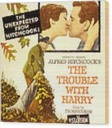 The Trouble With Harry, Shirley Wood Print