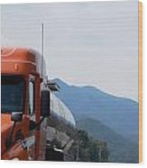 The Truck Wood Print