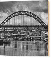 The Tyne Bridges Wood Print