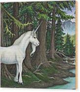 The Unicorn Myth Wood Print