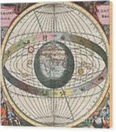 The Universe Of Brahe Harmonia Wood Print