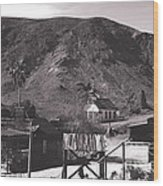 The Upper Village Of Calico Ghost Town Wood Print