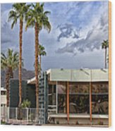 The View Palm Springs Wood Print