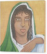 The Virgin Mary Wood Print