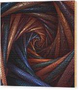 The Vortex Wood Print