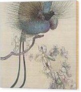 The Water Babies The Most Beuatiful Bird Of Paradise Wood Print