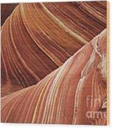 The Wave Sandstone Magic Wood Print