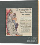 The Wedding Veil Of The Princess Rospigliosi's Great Grandmother Wood Print