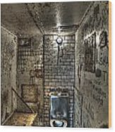 The West Virginia State Penitentiary Cell Wood Print