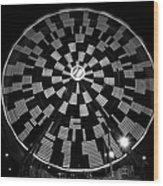 The Wheel That Ferris Built Wood Print