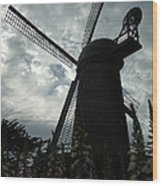 The Windmill Wood Print