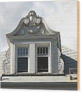The Window Quebec City Wood Print