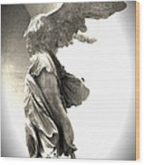 The Winged Victory - Paris Louvre Wood Print