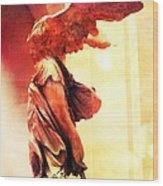The Winged Victory  Wood Print