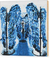 The Wings Of Fallen Angels Wood Print