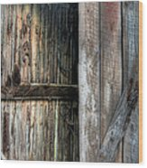 The Wood Shed Wood Print by JC Findley