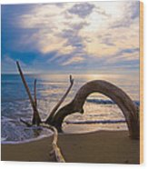 The Wooden Arch Wood Print