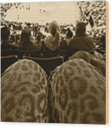 The World Thru Leopard Printed Pants Wood Print