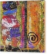 The Woven Stitch Cross Dance Wood Print