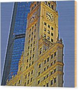 The Wrigley Building Wood Print