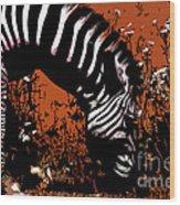 The Zebra Wood Print