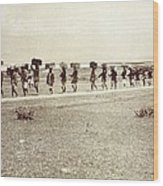 Theodore Roosevelts 1910 African Safari Wood Print