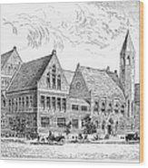 Theological Seminary, 1884 Wood Print