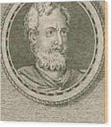 Theophrastus, Ancient Greek Polymath Wood Print by Science Source