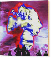 Thermonuclear Detonation Wood Print