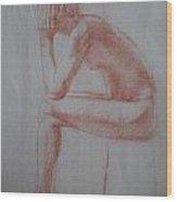 Thinking Wood Print
