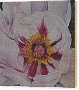 Thinking Of Georgia Wood Print