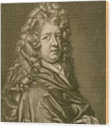 Thomas Betterton C. 1635-1710, Leading Wood Print