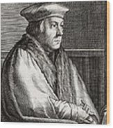 Thomas Cromwell, English Statesman Wood Print by Middle Temple Library