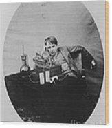 Thomas Edison, American Inventor Wood Print