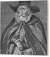 Thomas Hobson (1544-1631) Wood Print
