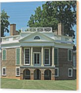 Thomas Jeffersons Poplar Forest Wood Print
