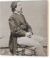 Thomas Nast 1840-1902, Created Cartoons Wood Print