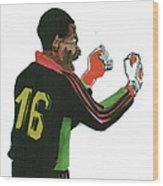 Thomas Nkono Wood Print