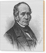 Thomas O. Larkin (1802-1858). American Merchant And California Pioneer. Wood Engraving, 19th Century Wood Print