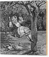 Thomas: The Swing, 1864 Wood Print
