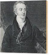 Thomas Young, English Polymath Wood Print